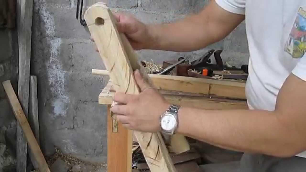 Como hacer una mesita plegable de madera parte 1 youtube - Como hacer una mesa abatible ...