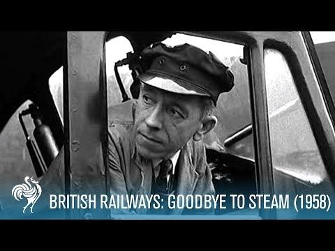 British Railways: Goodbye To Steam aka Railway Modernisation (1958) | British Pathé