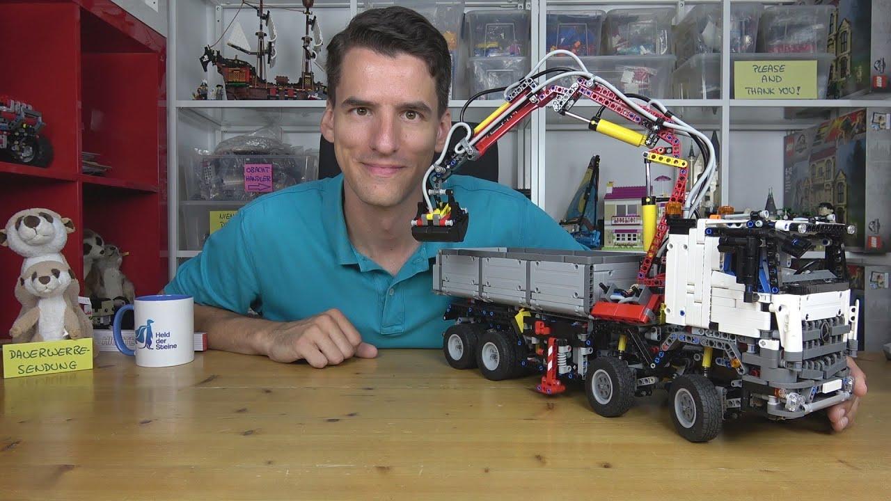 LEGO® Technic 42043 RC Umbau - unser Arocs flitzt mit seinen Freunden umher!