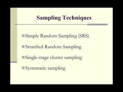 Selection of a Research Sample