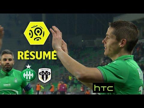 AS Saint-Etienne - Angers SCO (2-1)  - Résumé - (ASSE - SCO) / 2016-17