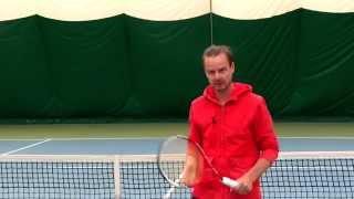Теннис. Удар слева двумя руками. Хватка и прочее. (Продолжение).