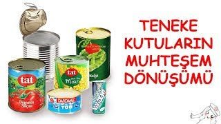 Teneke Kutulardan Farklı Objeler | DIY | Turn Steel Cans into Amazing Things