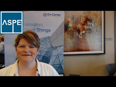 Construction Resource, Katie Pickard, On Center Software, ASPE Chapter 32 Kansas City Estimators