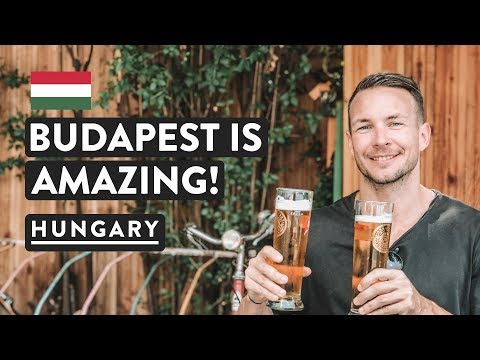 BUDAPEST IMPRESSIONS | Ruin bars, St Stephens Basilica & Jewish Quarter | Hungary Travel Vlog