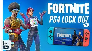 Fortnite PS4 Epic Compte Lock Out (fr) SONY RESTRICTING SWITCH - CONSOLES XBOX