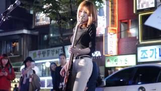 141017 홍대 비밥(BEBOP) - my sharona 지인 직캠