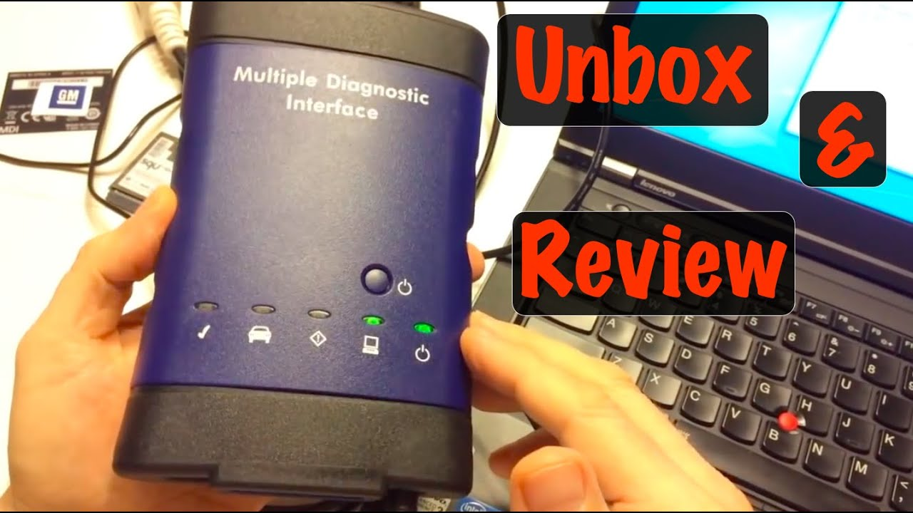 GM MDI Clone Scan Tool Unboxing Review and Setup ACDelco TDS Intro (Best  Chinese Clone to Buy)