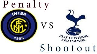 PES 2013 - Penalty shootout [Inter vs Tottenham Hotspur]