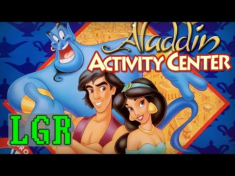 LGR - Disney's Aladdin Activity Center Review