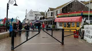 Walking Around The Sea Front In Lyme Regis