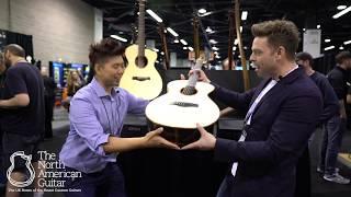 NAMM 2018: Isaac Jang Guitars With TNAG