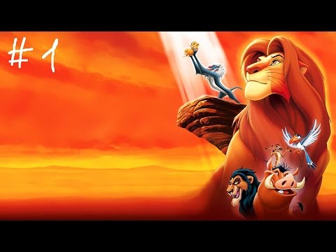 Disneys The Lion King: Simbas Mighty Adventure Прохождение игры на PS1 # 1