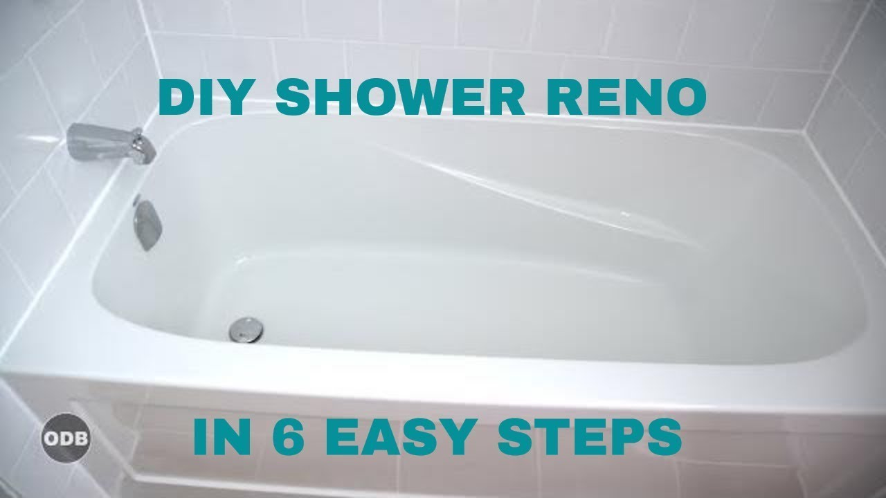 DIY How to Renovate the Tub / Shower from A to Z - YouTube