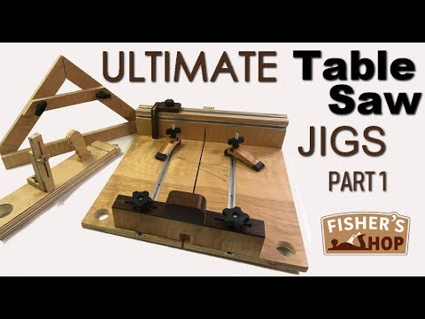 Shop Work: Ultimate Table Saw Jigs Part 1
