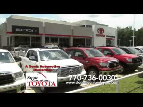 Service At Stone Mountain Toyota