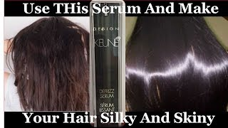 GET SHINY HAIR,SILKY HAIR, SOFT HAIR ,SMOOTH HAIR ~FOR DRY Damaged HAIR    Keune Design  Hair Serums