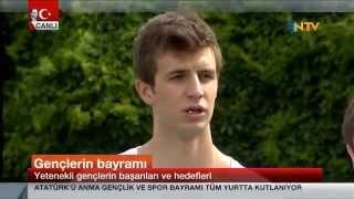 Basketbolcu Darüşşafakalı Öğrenciler, 19 Mayıs'ta NTV'deydi!