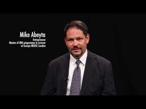 Introducing Mike Abeyta IBM programme mentor & lecturer | INSEEC London