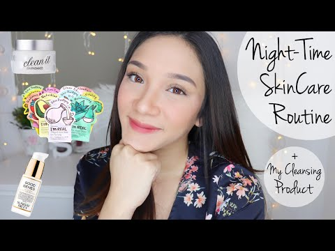 My Fav Cleansing Product + Nighttime Skincare Routine (in Bahasa) | STEFANYTALITA