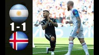ARG vs ISL 1-1 Full Highlight & RЕSUМЕN & GОLЕS   FIFA WORLD CUP 2018