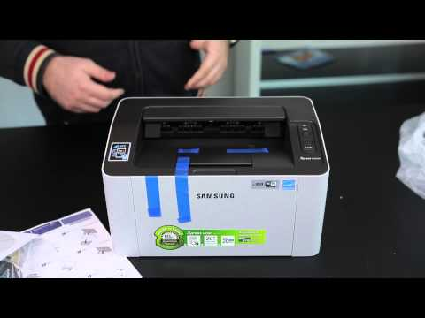 Unboxing Samsung Xpress M2022W