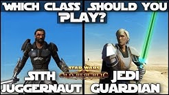"""Which Class Should You Play?"" Sith Juggernaut / Jedi Guardian 