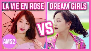 IZ*ONE LA VIE EN ROSE VS I.O.I DREAM GIRLS (CHORUS, VOCAL, RAP & MORE)