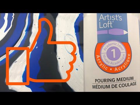 Artists Loft Pouring Medium Review – You should definitely try this pouring medium!!!