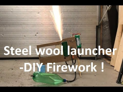 Steel wool firework 1 -Best micro:bit project ever?