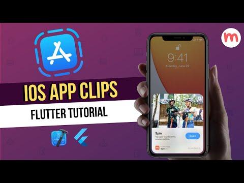 Flutter iOS App Clips Tutorial