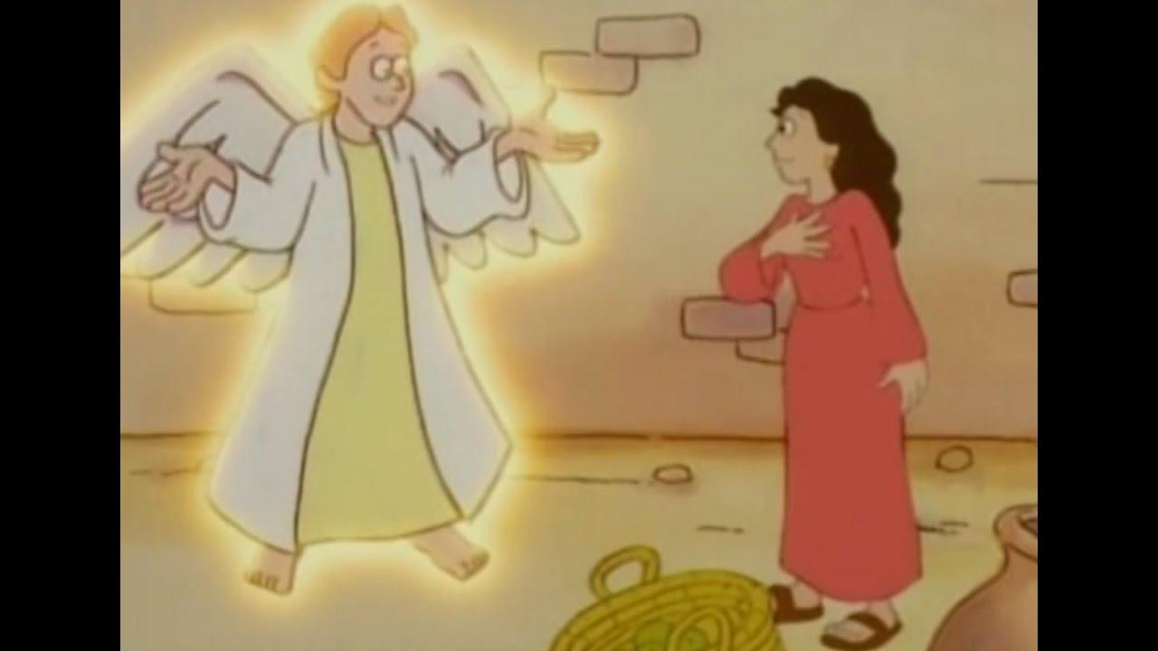 Die Geburt Christi, Teil 1 - Bibel Geschichten - YouTube