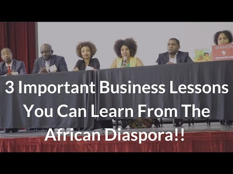 How The African Diaspora Learn About African Business Opportunities   I Am The Diaspora