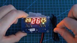 Контроллер температуры W1401. Обзор, настройка, подключение