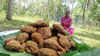 Crispy Fried Chicken - KFC Style Fried Chicken Legs prepared in my Village by Grandma
