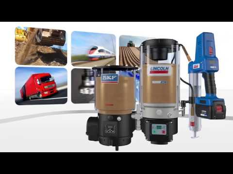 SKF Lincoln Lubrication Solutions For Construction Machines And Equipment