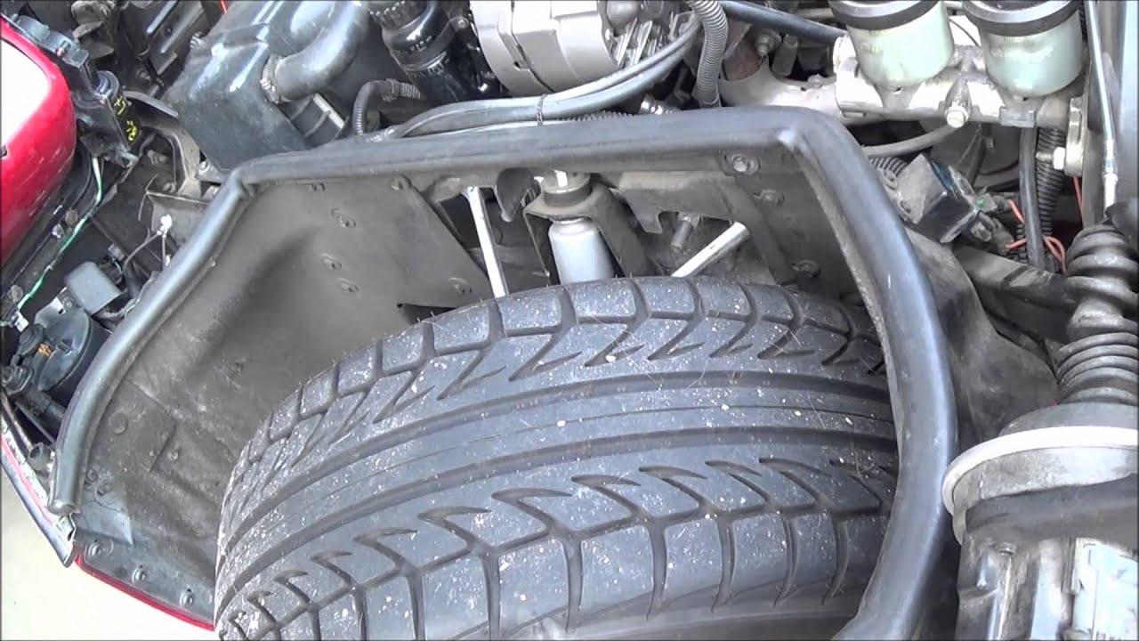 Corvette Battery Change 1984 1996 Youtube