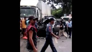 Accident cagsawa daraga albay . Today at nov27/15