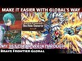 The Holy Emperor - Karna Masta Strategy Zone Trial 1st Clear Walkthrough (Brave Frontier Global)