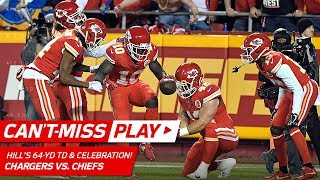 Tyreek Hill's 64-Yd Catch-'n-Run TD & Pit Stop Celebration! 🏎  | Can't-Miss Play | NFL Wk 15