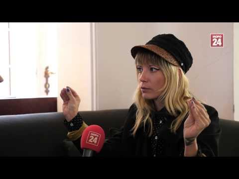 Mieze von MIA im Interview mit MOPO24-Reporterin Juliane Bauermeister