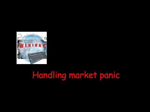 Handling market panic