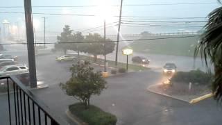 Very heavy rain in San Antonio, Texas June 2nd 2016