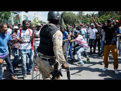 At least one dead as Haiti corruption protest turns violent