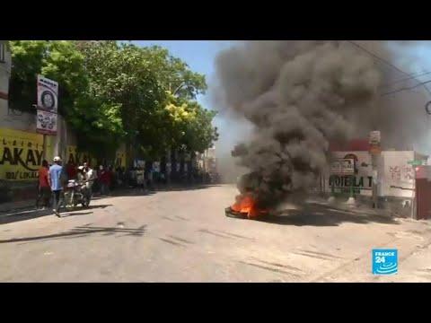 فرانس 24:At least one dead as Haiti corruption protest turns violent