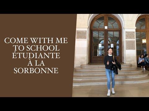 "COME WITH ME TO SCHOOL | STUDENT IN PARIS, PANTHEON, SORBONNE LA ""VRAI"""