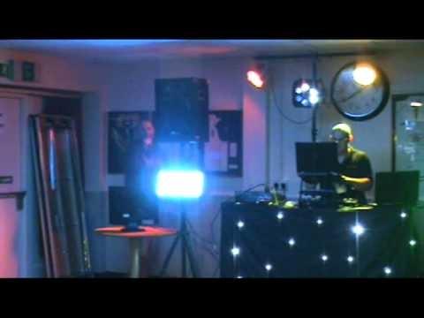 south london disco karaoke gig log at Bickley cricket club