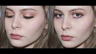 �������� ���� Make up tutorial: золотые, красные, сливовые тени ������