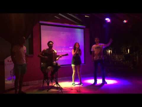 Natalie on Karaoke - (Passenger - Let Her Go) - Club Anastasia, Marmaris June 2015