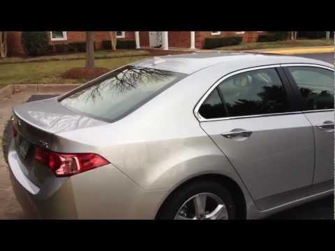 2012 Acura TSX Tech Review, Walk Around, Start Up & Rev, Test Drive